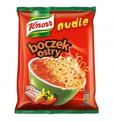 Nudle Boczek ostry zupa błyskawiczna Knorr