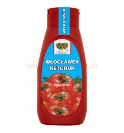 Ketchup pikantny Włocławek 480g PET