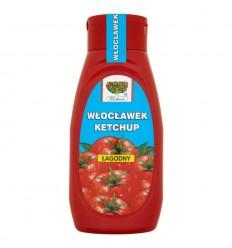 Ketchup łagodny Włocławek 480g PET