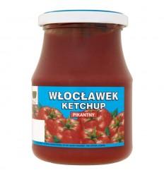 Ketchup łagodny Włocławek 380g słoik