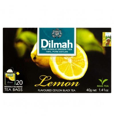 Thé Lemon Dilmah 20 sachets