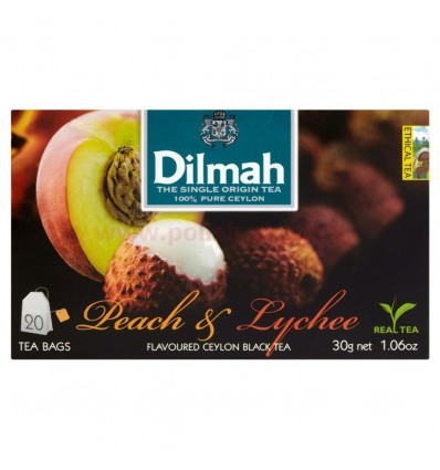 Dilmah Peach & Lychee Tee 20 Beutel