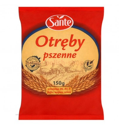 Wheat bran Sante 150g