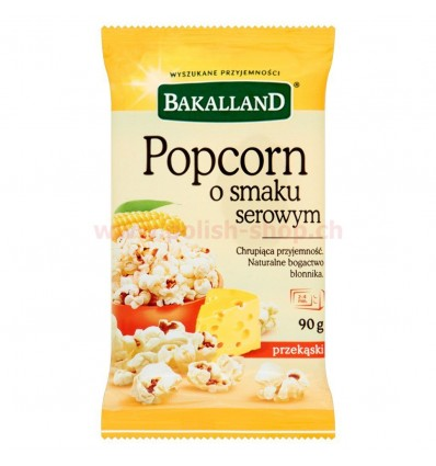 Popcorn o smaku serowym Bakalland 90g