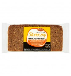 Chleb żytni Słoneczny pełnoziarnisty Oskroba 450g
