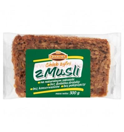 Rye bread with muesli Oskroba 300g