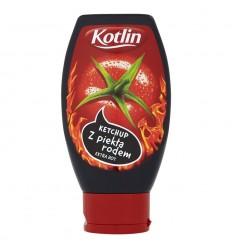 Ketchup z piekła rodem Kotlin 430g PET