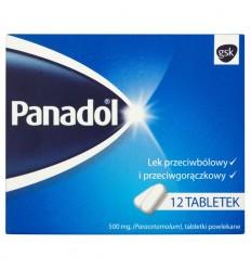 Panadol 12 tabletek