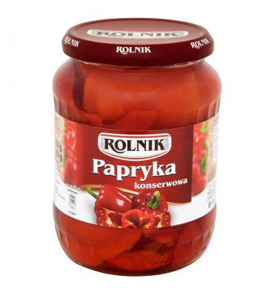 Papryka konserwowa Rolnik 720ml