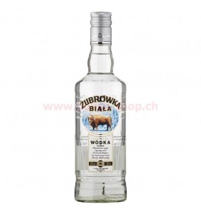 Vodka Zubrowka biala (blanche) 40% 500ml
