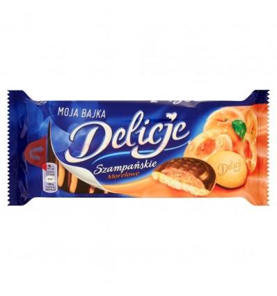 Biscuits à la gelée d'abricots Delicje Szampanskie 147g