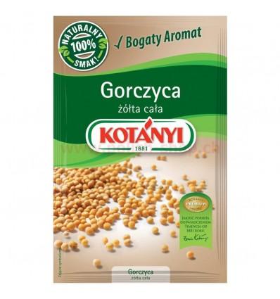 Przyprawa Gorczyca żółta cała Kotanyi 40g
