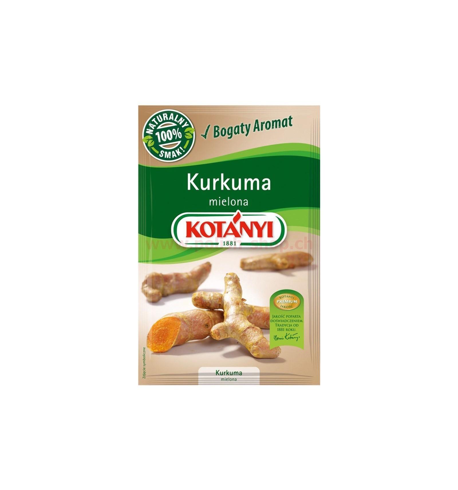 Przyprawa Kurkuma mielona Kotanyi 10g