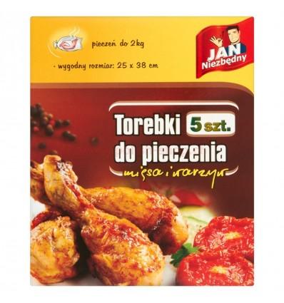 Torebki do pieczenia mięsa i warzyw Jan Niezbędny 5 szt.