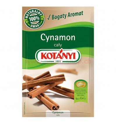 Przyprawa Cynamon cały Kotanyi 17g