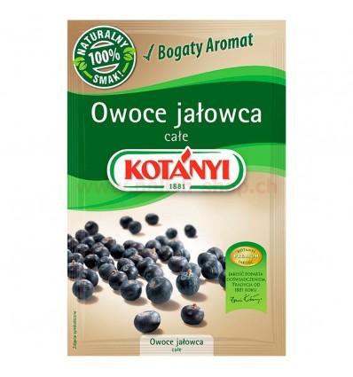 Fruits de genévrier entiers Kotanyi 20g