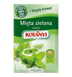 Mięta zielona otarta Kotanyi 9g
