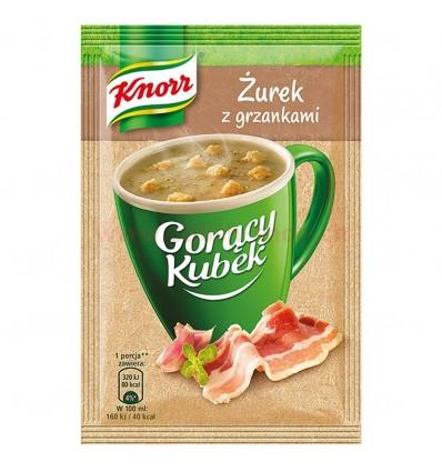 Knorr Goracy saure Mehlsuppe mit Toast Fertigsuppe 17g