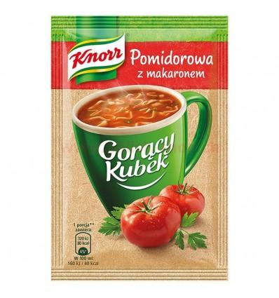 Gorący Kubek Pomidorowa z makaronem Knorr