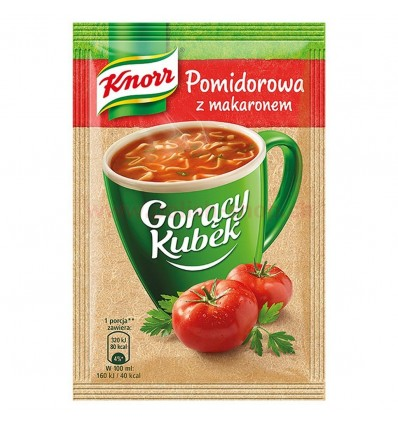 Instant tomato soup with noodles Knorr 19g
