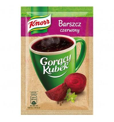 Gorący Kubek Barszcz czerwony Knorr