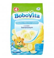 Kaszka mleczno-ryżowa o smaku bananowym Bobovita 230g
