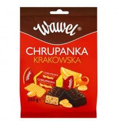 Cukierki Chrupanka Krakowska Wawel 260g
