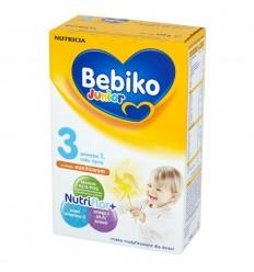 Mleko modyfikowane o smaku waniliowym 3 powyżej 1 roku życia Bebiko Junior 350g