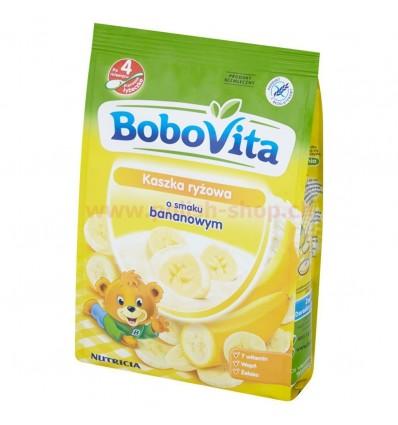 Rice porridge banana flavour Bobovita 180g