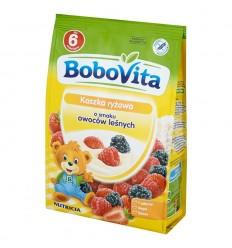 Kaszka ryżowa o smaku owoców leśnych Bobovita 180g