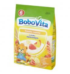 Kaszka manna o smaku owocowym Bobovita 180g