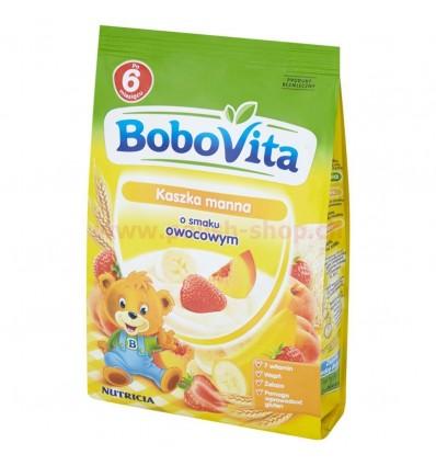 Semoule au lait goût multifruit Bobovita 180g