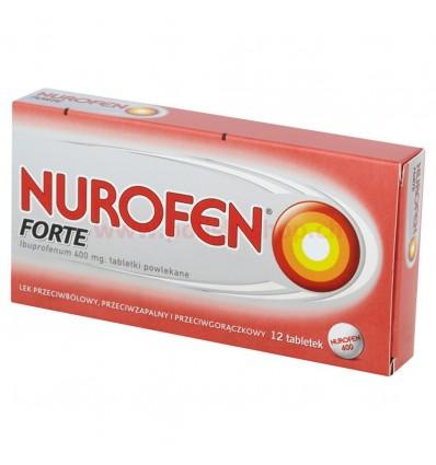 Nurofen Forte 12 tabletek