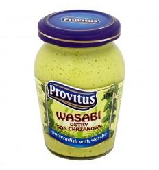 Wasabi ostry sos chrzanowy Provitus 170g