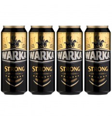 Piwo Warka Strong puszka 500ml