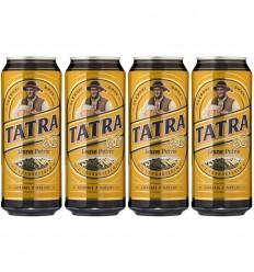 4x Piwo jasne pełne Tatra puszka 500ml