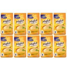 10x Mąka kukurydziana Melvit 1kg