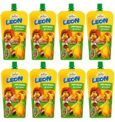 8x Sok jabłko-banan-gruszka Leon Hortex 200ml