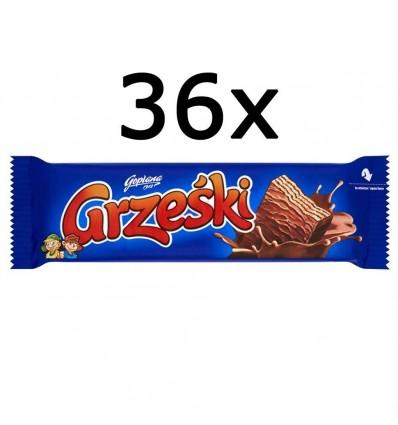 36x Barre chocolatée Grzeski 36g