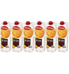 6x Sok Pomarańcza z cząstkami Fortuna 1l