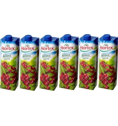 6x Nectar cerise Hortex 1l