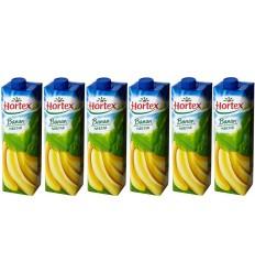 6x Nektar Banan Hortex 1l