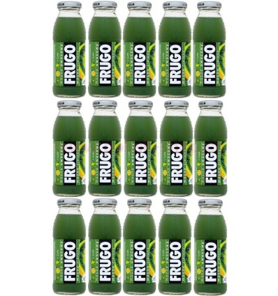 15x Frugo grüner Getränk 250ml