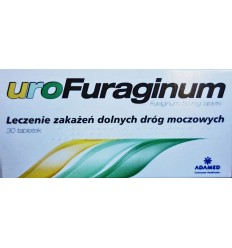 Uro Furaginum 30 tabletek