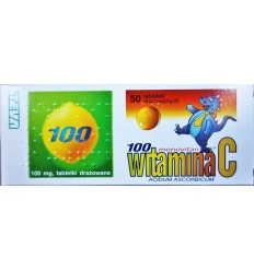 Witamina C 100mg Monovitan 50 tabletek