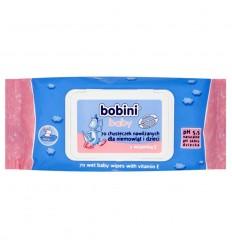 Chusteczki nawilżające dla dzieci i niemowląt Bobini 70 sztuk