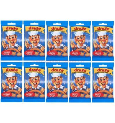 10x Marynarz cream dragees Skawa 70g