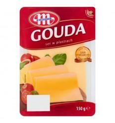 Ser żółty Gouda Mlekovita 150g plastry