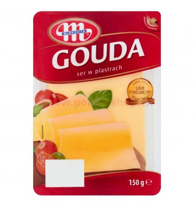Gouda cheese Mlekovita 150g slices