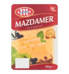 Ser żółty Mazdamer Mlekovita 150g plastry